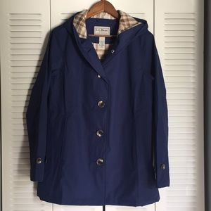 LL Bean Macintosh Coat